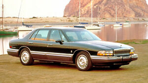 Buick Park Avenue or Roadmaster