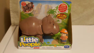 Fisher Price Little People Hippo - New In Package