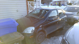 2004 Toyota Echo Hatch bac