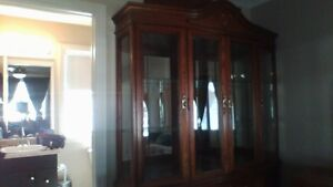 CHINA CABINET - Immaculate - Moving must sell Strathcona County Edmonton Area image 2