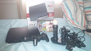 Console Playstation 3 (320Go) + Playstation Move + jeux