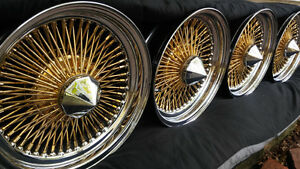 2500-3500$ ---------- 20'' 22'' WIRE WHEELS pneus inclus