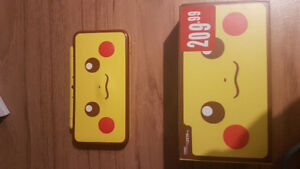 FS: Pikachu 2DS XL /w ext warranty for sale or trade