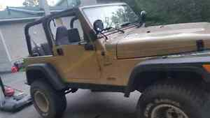 Low km looking to sell Jeep TJ