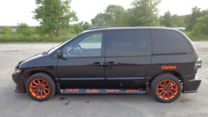 Dodge Grand Caravan 2000 modifié