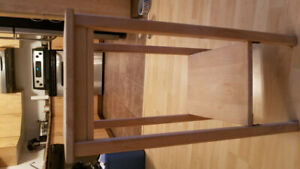 2 wood end tables in good condition.