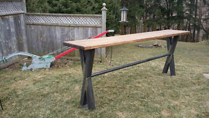 Custom metal/wood furniture and fabrication London Ontario image 3
