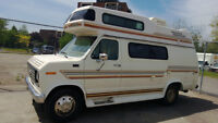 1989 Ford Travelaire - Class B Camper Van
