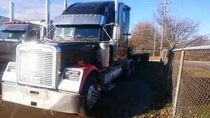 Freightliner and load King flatbed London Ontario image 1
