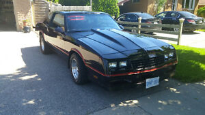 1986 MONTE CARLO SS WITH HIGH PERFORMANCE ENGINE