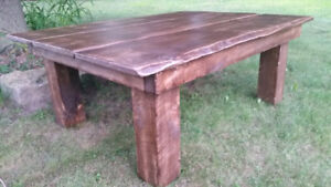 New 5ft Rustic Coffee Table
