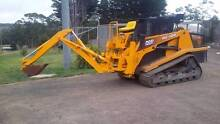 Hughes back hoe for sale Princetown Corangamite Area Preview