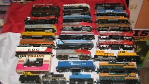 HO Scale Electric Trains