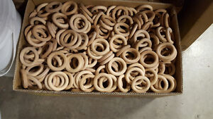 "2.5"" Wooden Rings"
