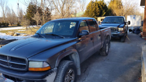 2003 dakota quad cab 4x4