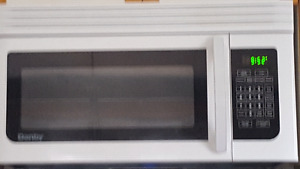 Danby above stove microwave