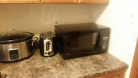 New Microwave and Toaster