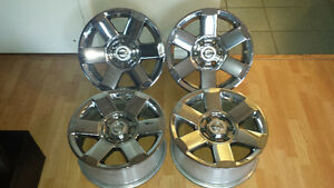 "4 x 18"" Chrome OEM Nissan Titan Rims Alloys Wheels $580 obo EUC"