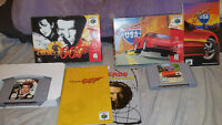 Complete Nintendo 64 007 Goldeneye and cruis'n USA tested cleane