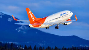 2 round trip flights Vancouver to Whitehorse