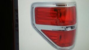 Tail Light for Ford F-150 09-14 Lens and Housing Styleside Left