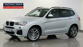 image for 2017 BMW X3 2017 67 BMW X3 2.0 20D M Sport xDrive Diesel silver Automatic