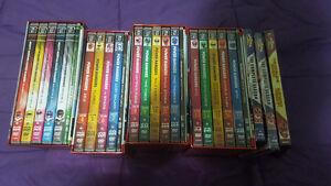 Power Rangers Seasons 1-17 4 Piece DVD Box Set with season 18 an