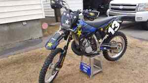 Solid, fast,  set up yz250