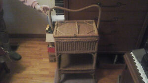 Antique Sewing Basket London Ontario image 1