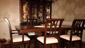 Formal Dinning Room Set - Quality hardwood
