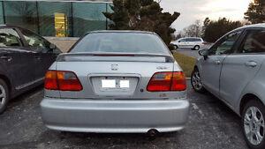 1999 Honda Civic EX Sedan - Silver Clr - Spoiler & CD/MP3 Player