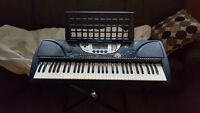 Yahama Keyboard, Stand & Bench For Sale