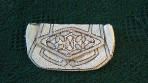 Antique French Beaded Evening Bag