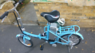Dillenger electric folding bike - excellent working condition