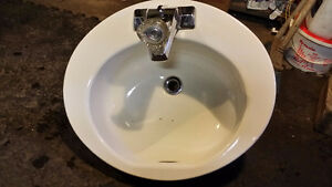 Bathroom Sink and Faucets