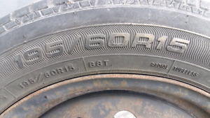4x114.3 bolt paternrims  195/60R15 tires