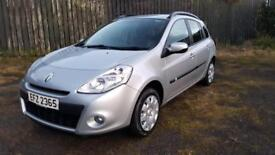 TOTAL PERFECTION. 2010 RENAULT CLIO TOURER ESTATE.ONLY 56000 MILES,ONE YEAR MOT,