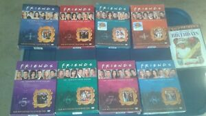 8 Friends DVD sets and also a Bonus DVD!!!!!