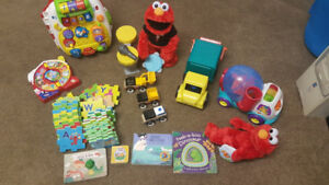 Box of toys 6m-2yrs, lots of fun