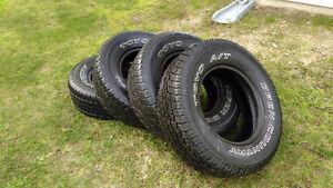 4 pneus usagé