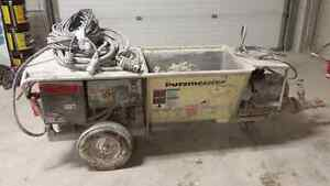 Fireproofing pump for sale - putzmeister S5EV