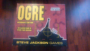 Big freaking bad ass game - OGRE - Designers Edition