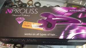 Like new Proliss auto curler diamond collection