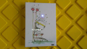 Tim Burtons Tragic Thoughts Light-Up Journal New good condition