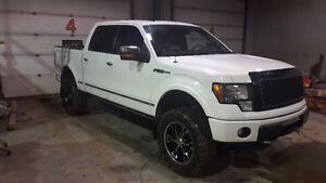 2009 Ford F-150 Platinum Lifted-Trade or Sell Dirtbike