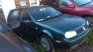 2000 Volkswagen Golf - Make and offer. Needs to go!