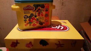 Box of Play-doh accessories