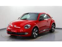 2014 Volkswagen Beetle 2.0 TSI 210PS Petrol red Manual