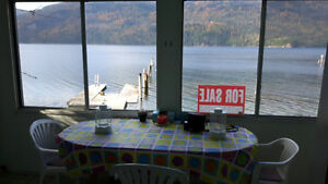 Mabel Lake BC Waterfront Cabin For Sale