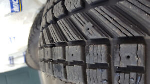 "snow tires and rims Dodge 5 bolt 17"""